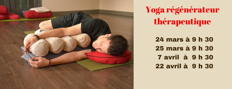 Yoga régénérateur thérapeutique
