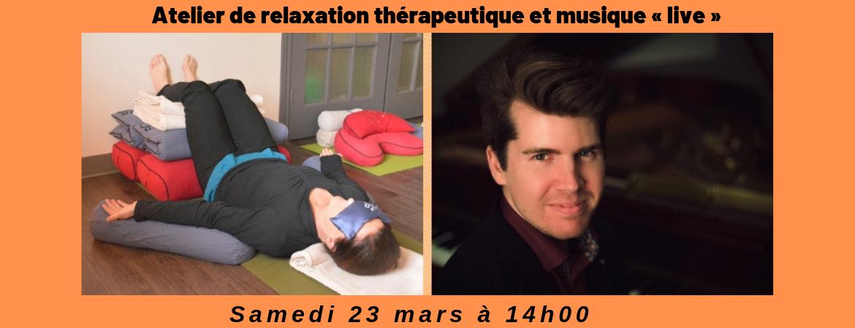 Atelier thérapeutique et musique live