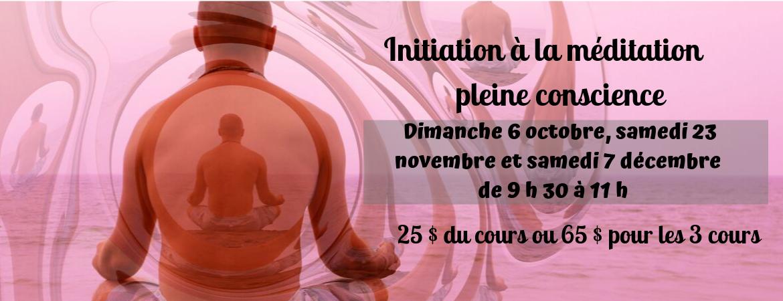 Initiation à la méditation pleine conscience